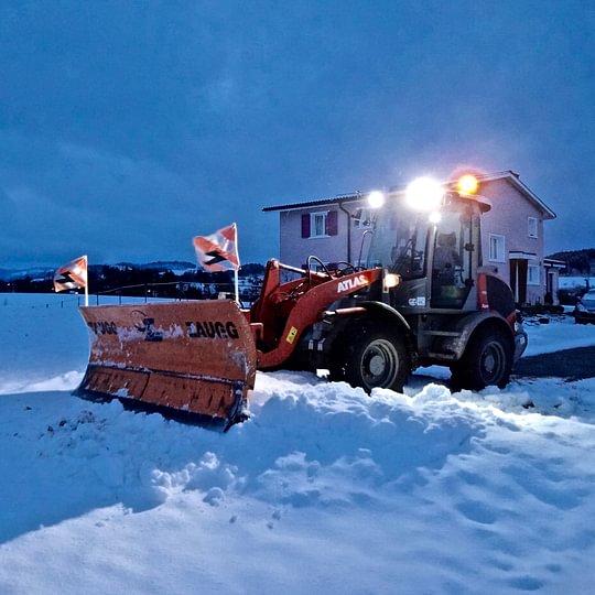 LED Arbeitsbeleuchtung für Winterdienst