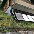 Thermische Solaranlage 18 m2 freistehend, Hasliberg