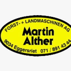 Alther Martin Forst- und Landmaschinen AG, Eggersriet - Logo