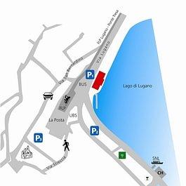 Tresa Bay Hotel - Map Ponte Tresa