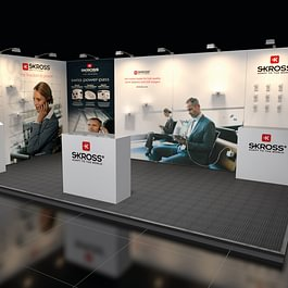 Vario-Display AG, mobiler Messestand aus System Clever