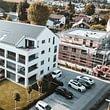 Mehrfamilienhaus mit Solaranlage und Zusammenschluss zum Eigenverbrauch (ZEV)
