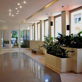 Il nostro studio di fisioterapia e riabilitazione, situato in centro a Lugano, a 9 minuti a piedi dal Lago.