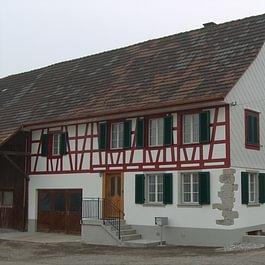 Fassadenrenovation in Hörhausen