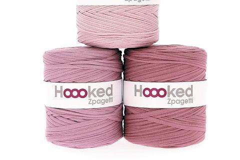 Hoooked Zpagetti Textilgarn zum Häkeln und Stricken - das Original Jerseygarn