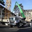 Lastwagen Bühne BRONTO Skylift 56 m