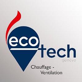 Logo de la société Ecotech Genève - Chauffage - Ventilation - Climatisation