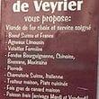 Boucherie de Veyrier