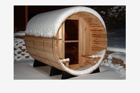 Sauna Fass