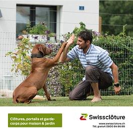 Swissclôture –clôtures, portails et garde-corps pour maison jardin.