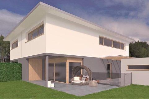 Breganzona - 2 Nuove Case 4,5 locali da costruire in vendita