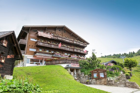 Sommeraufnahme Hotel Bettmerhof