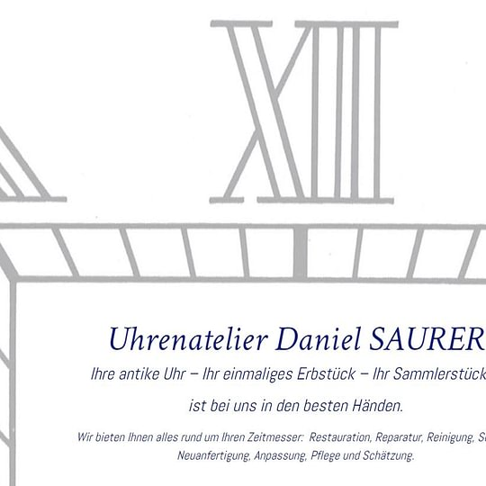 Uhrenatelier Daniel Saurer