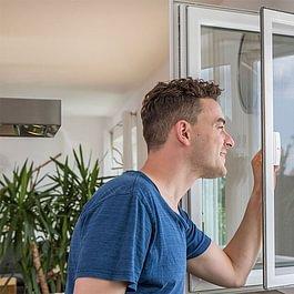 Drehfenster, Pendelfenster Insektenschutz