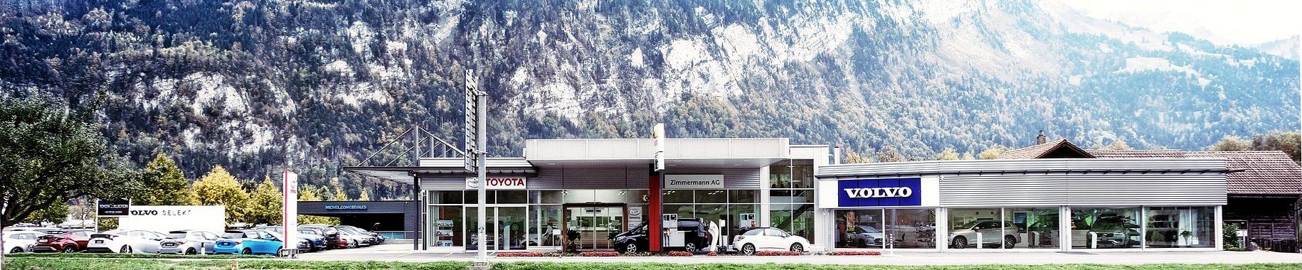 Garage Zimmermann AG - offiz. Volvo und Toyota Vertretung.