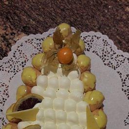 """St-honoré aux 3 citrons """" Médaille d'or"""" Swiss Bakery Trophy"""
