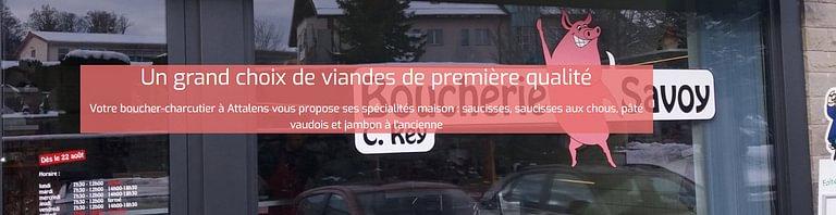 Savoy SA Boucherie-Charcuterie
