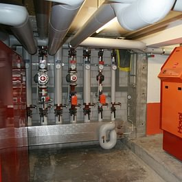 Impianto di distribuzione riscaldamento a Gas