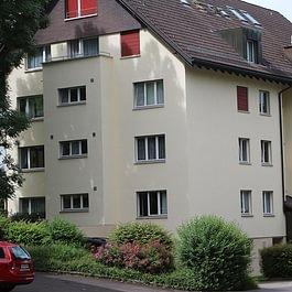 Fassade nachher – Malergeschäft P. Käser AG – St. Gallen
