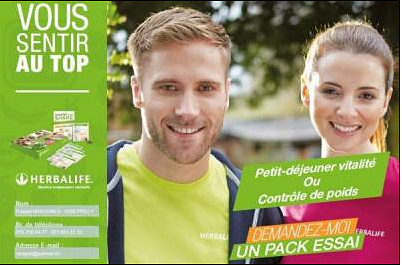 Pack Essai 3 ou 6 jours Herbalife