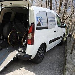 Modificato per il trasporto di disabili in Ticino