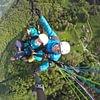 parapente biplace, Paragliding tandem chillon