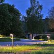 Baschnagel Elektro AG in Rheinau, Wegbeleuchtung