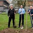Baumpflanzaktion zum 75 Jahr-Jubiläum