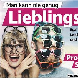 Jeder braucht doch mehr als eine Lieblingsbrille oder? ;-)