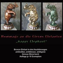Skulpturen, Hommage an die Circus Elefanten