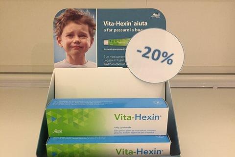 Vita-Hexin pomata 30 e 100 g