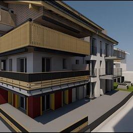 Neues Wohn-und Geschäftshaus
