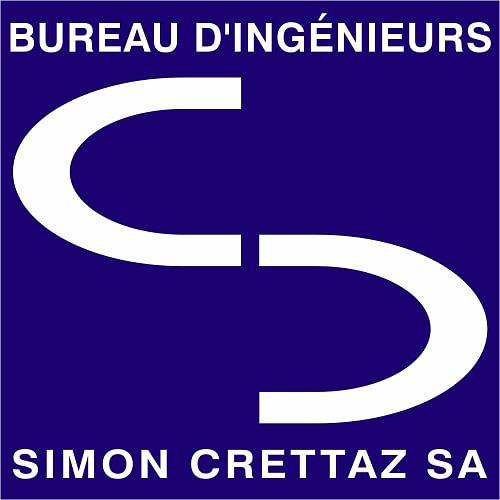 Logo Bureau d'ingénieurs Simon Crettaz SA