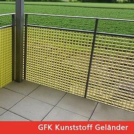 GFK-Kunststoffgeländer