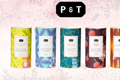 p & t - paper and tea