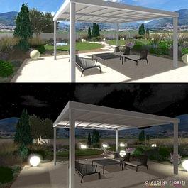 Progettazione di giardini in 3D giardiniere diplomato Ditta giardinaggio Lugano