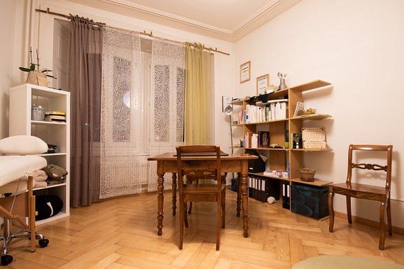 Salle de naturopathie et art-thérapie