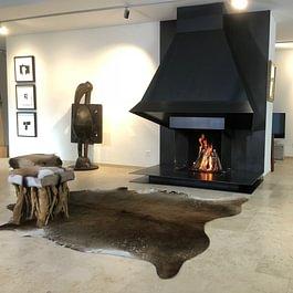 Exklusive Feuerstelle/Cheminée