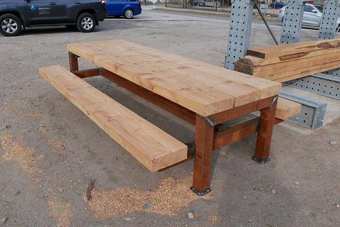 Tavolo legno - ferro