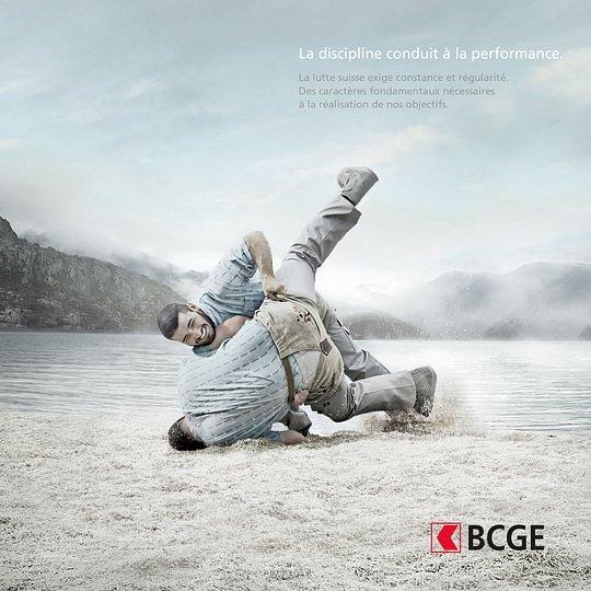 Visuel de la Campagne BCGE 2016