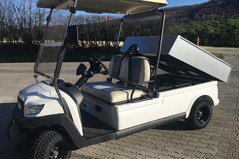Elektrofahrzeug / Golfcar WSM MX6 Cargo mit Ladefläche z. Kippen ab Fr. 12'895.-