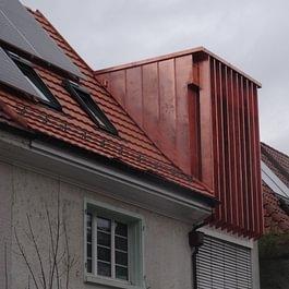 Spengler und Flachdacharbeiten In Den Ziegelöfen Basel.