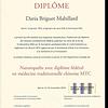 Naturopathe avec diplôme fédéral Suisse en MTC