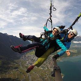 parapente biplace, Paragliding tandem fun