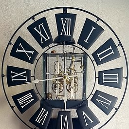 Morbier ancien Relooker Chez L'Horloger à Blonay