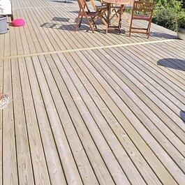 Plancher de terrasse