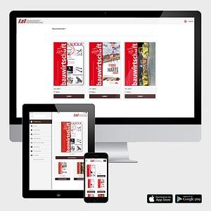 TabletPublishing mit cube app