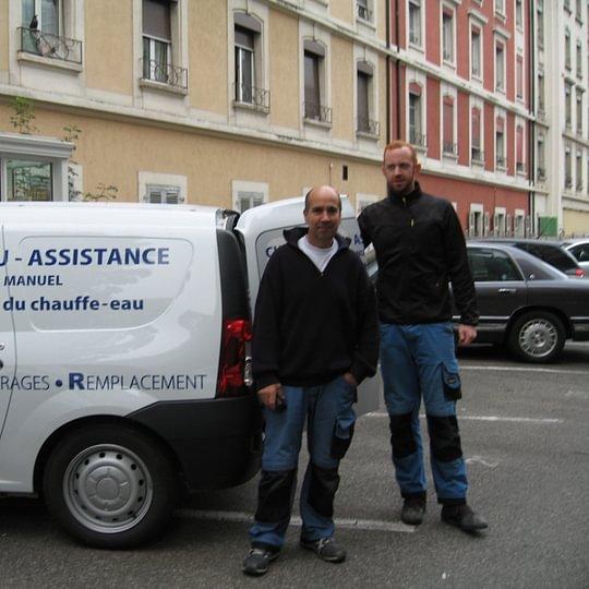 Vieira Manuel Chauffe-Eau, Assistance