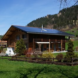Photovoltaik auf Einfamilienhaus