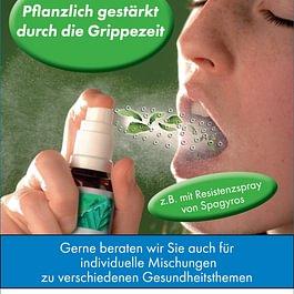 Grippezeit - Resistenzförderung